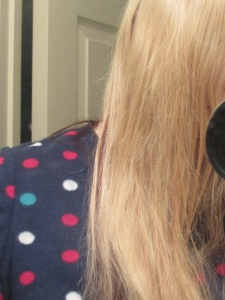 An improvement!   Product free! Just brushed the frizz away (after)