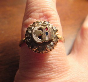 grandma's masonic ring