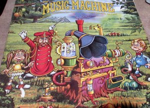 Album Cover Music Machine